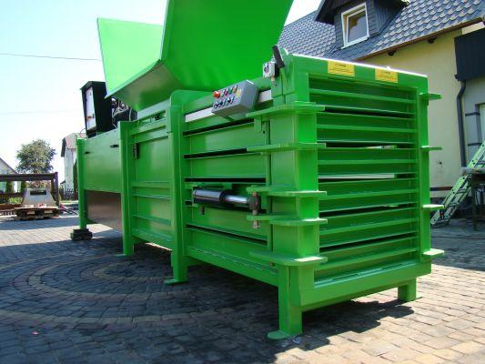 Waste baler machine 600Plus