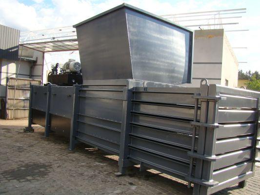 Waste baler machine 800Max